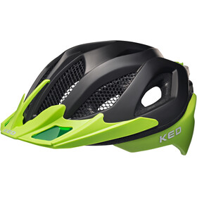KED Spiri Two Helmet Black Matt/Green